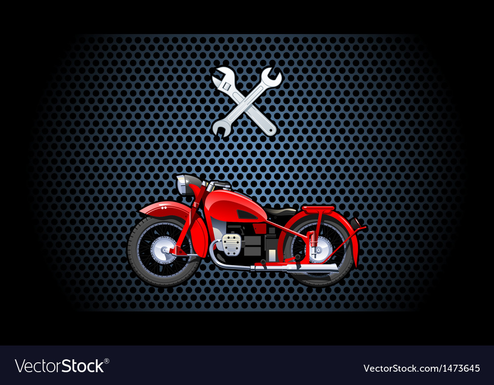 Motorcycle vector | Price: 3 Credit (USD $3)