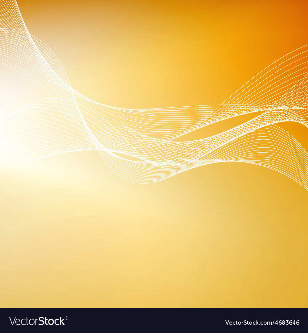 Abstract orange background with lines vector | Price: 1 Credit (USD $1)