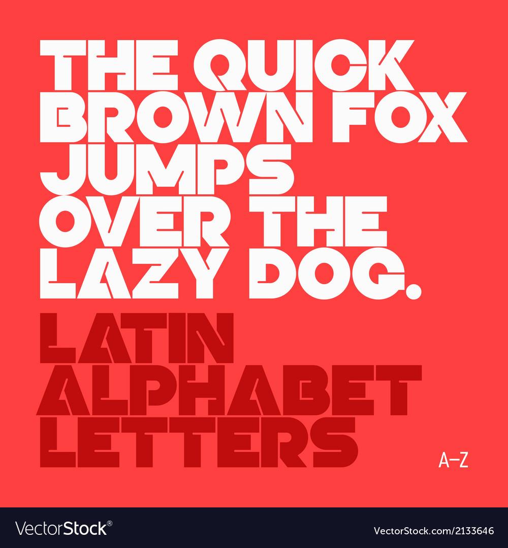 Latin alphabet letter vector | Price: 1 Credit (USD $1)