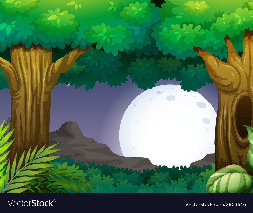 Night time vector | Price: 3 Credit (USD $3)