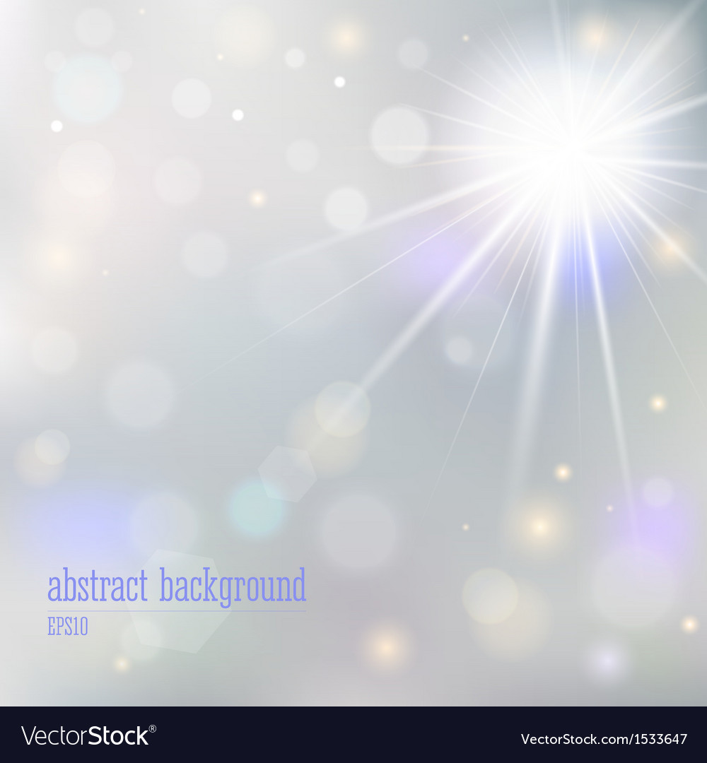Abstract background with blurry lights vector | Price: 1 Credit (USD $1)