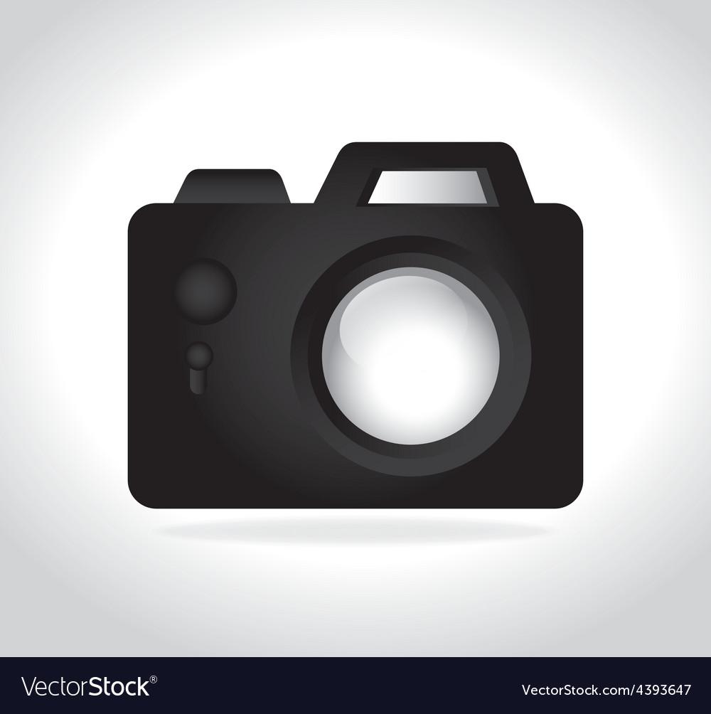 Camera design vector | Price: 1 Credit (USD $1)