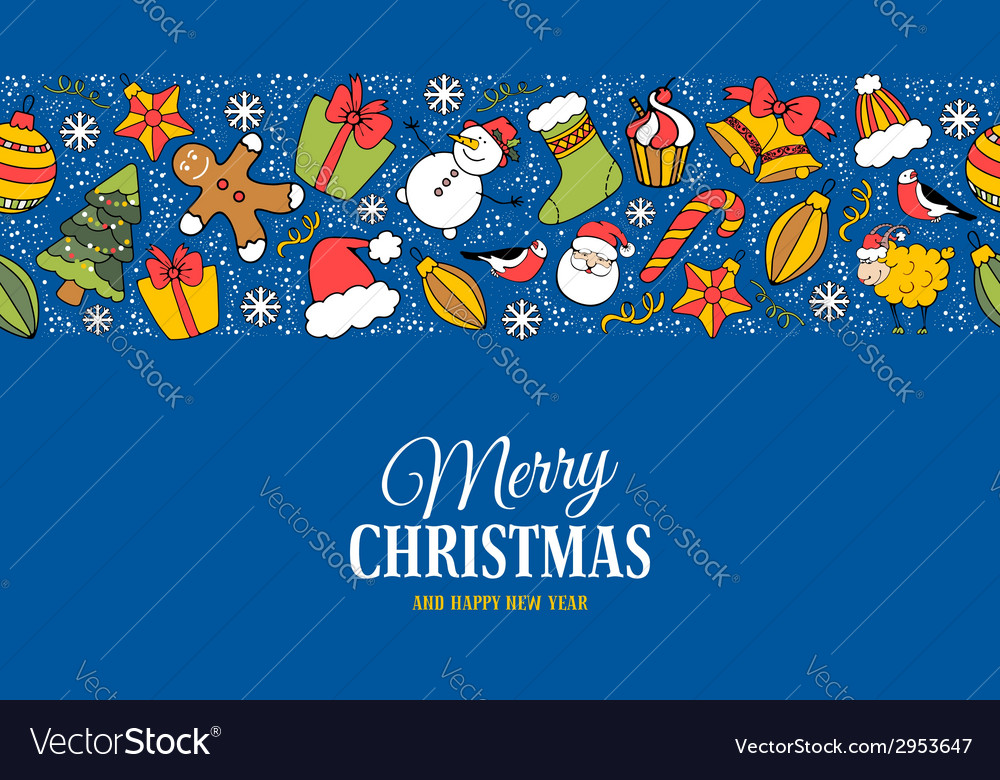 Christmas greeting cards vector | Price: 1 Credit (USD $1)