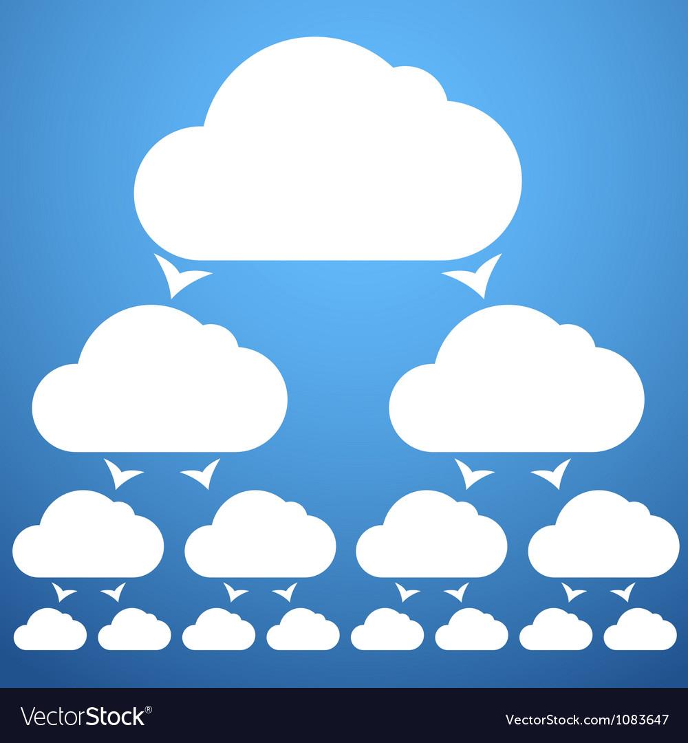 Cloudscheme vector | Price: 1 Credit (USD $1)