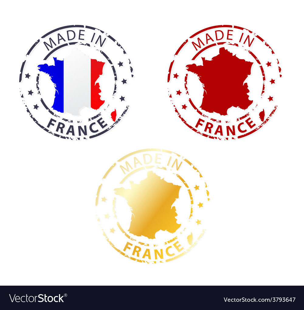 Made in france stamp vector | Price: 1 Credit (USD $1)