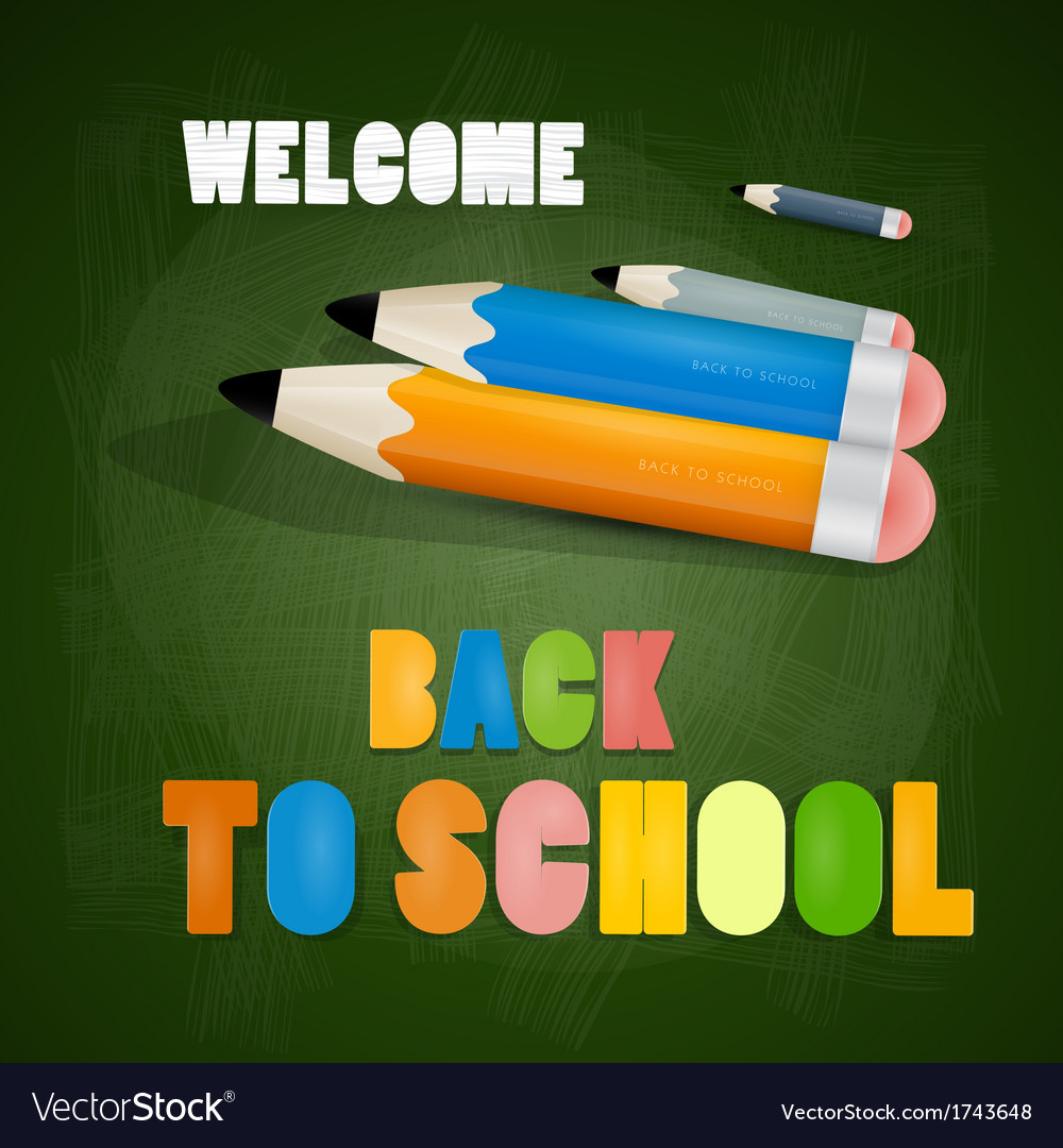 Back to school theme vector | Price: 1 Credit (USD $1)