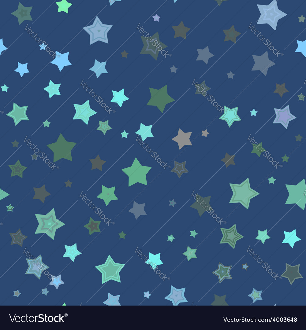 Seamless stars pattern vector | Price: 1 Credit (USD $1)