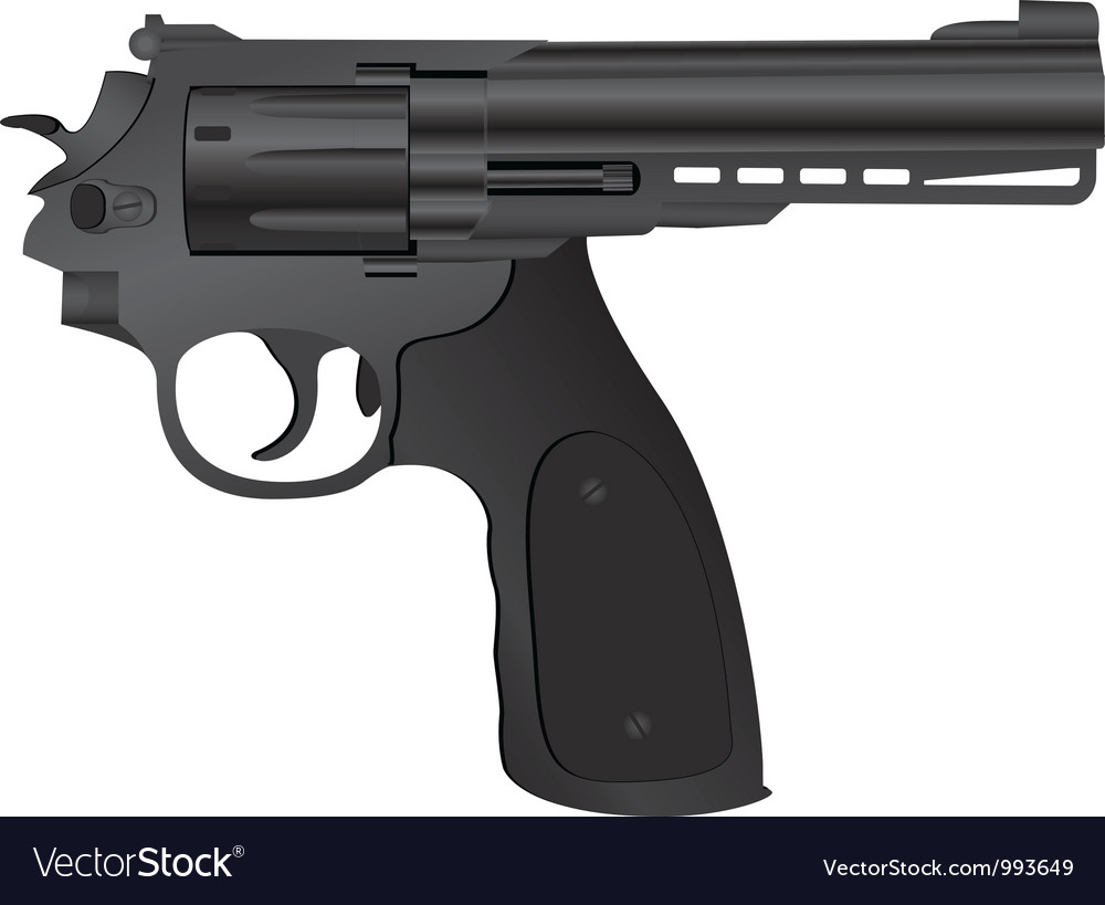 Correct pistol vector | Price: 3 Credit (USD $3)