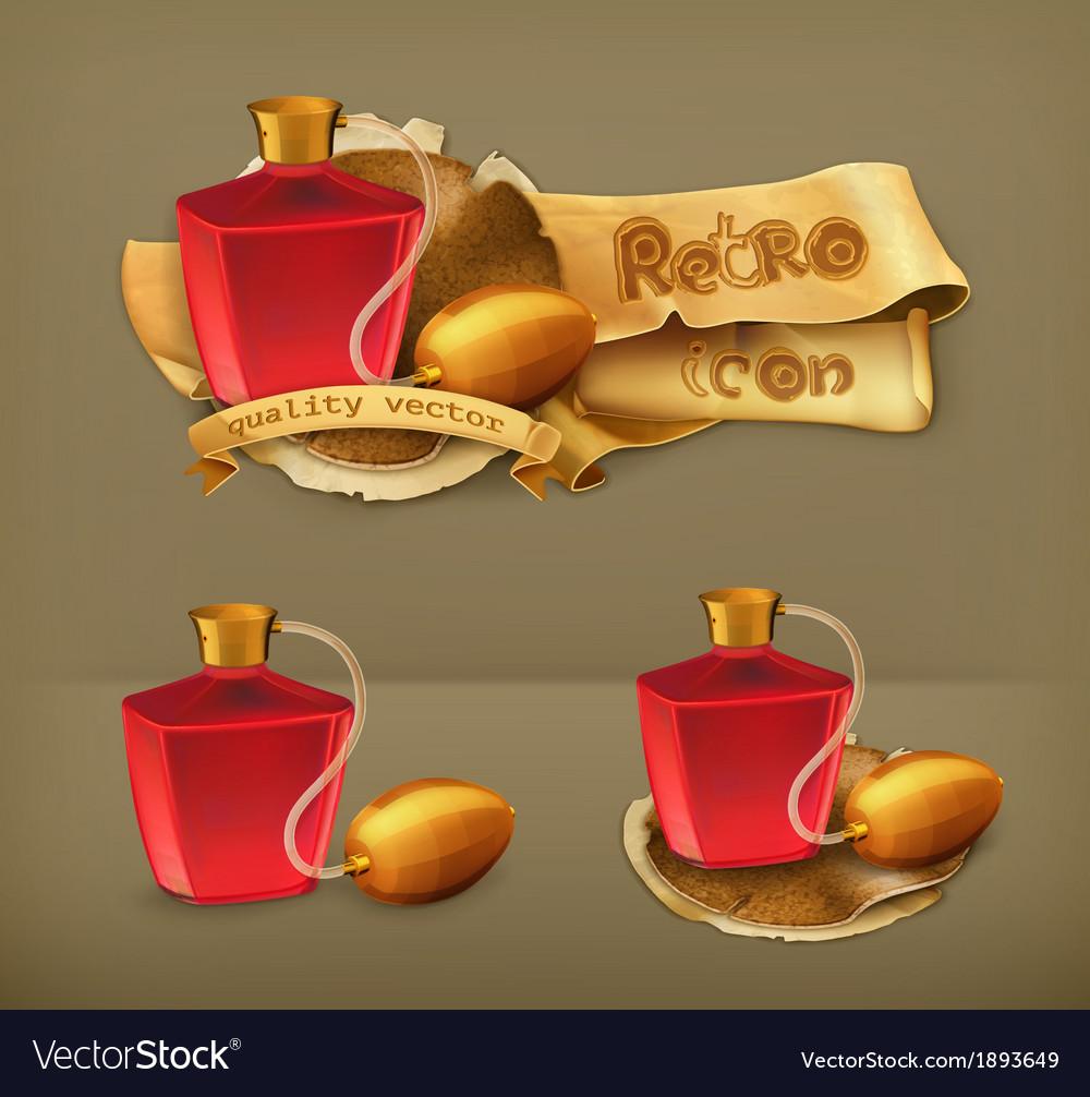 Perfume icon vector   Price: 1 Credit (USD $1)