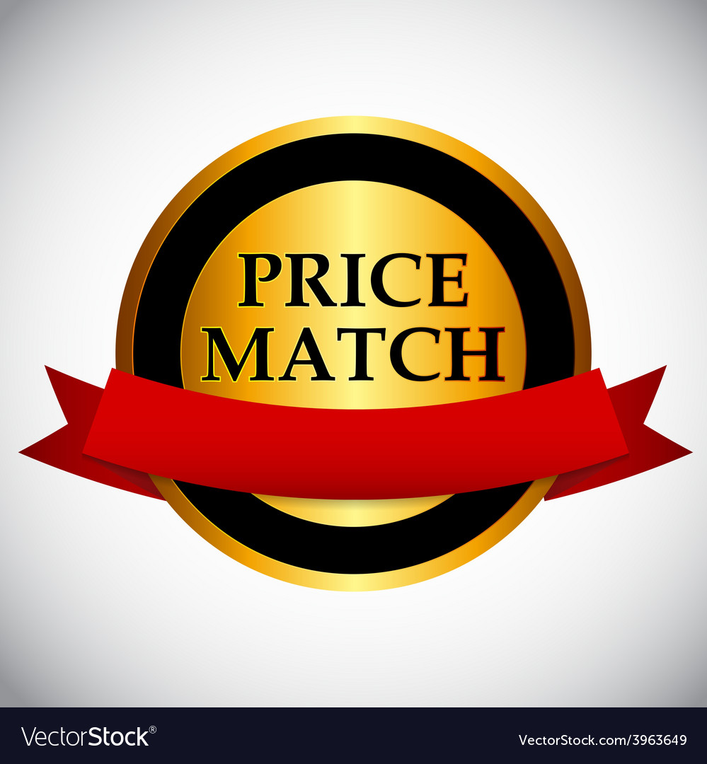 Price match label vector   Price: 1 Credit (USD $1)