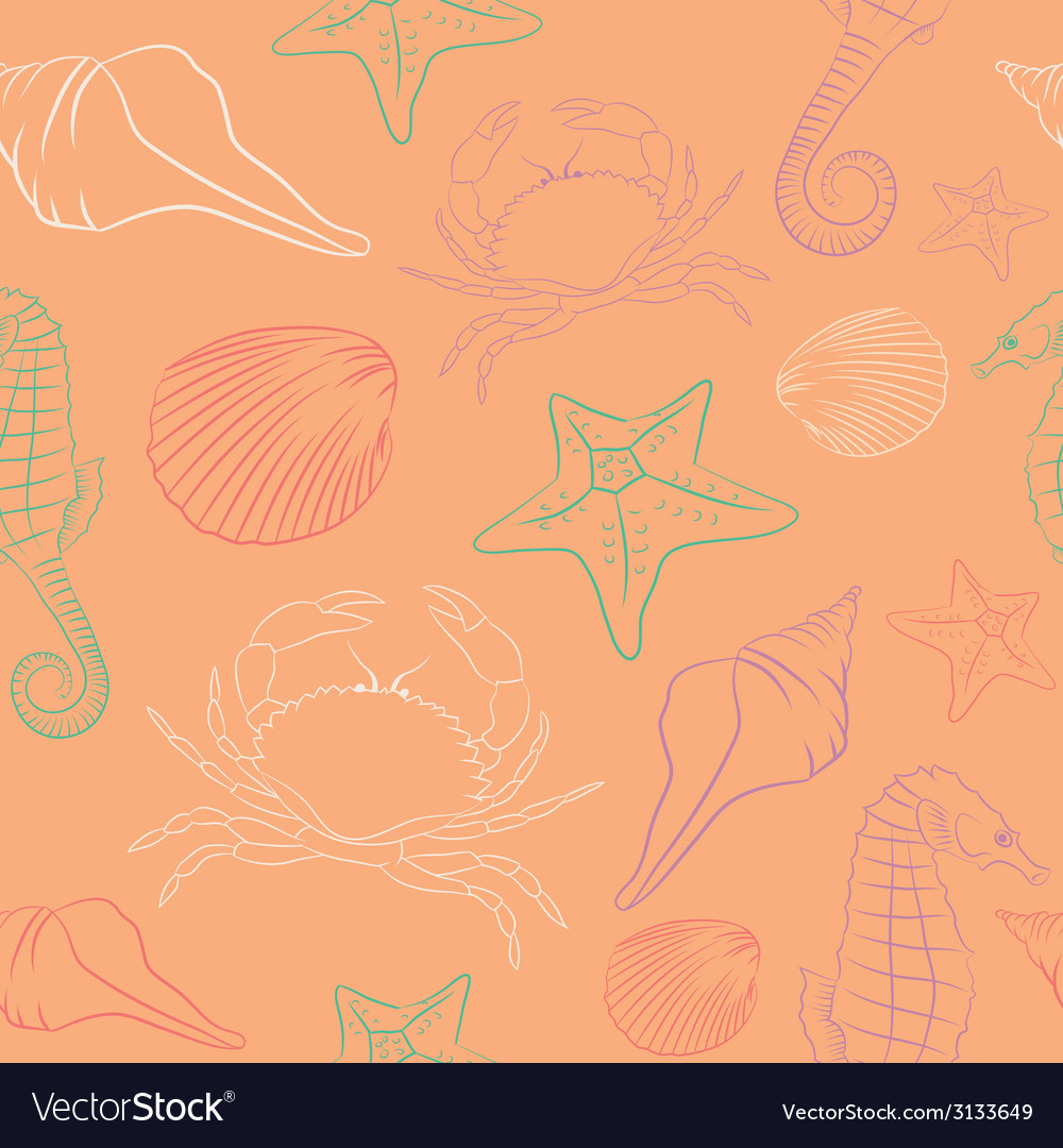 Summer pattern vector | Price: 1 Credit (USD $1)