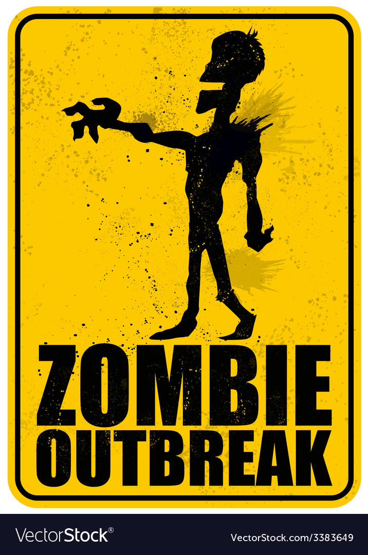 Zombie outbreak vector | Price: 1 Credit (USD $1)