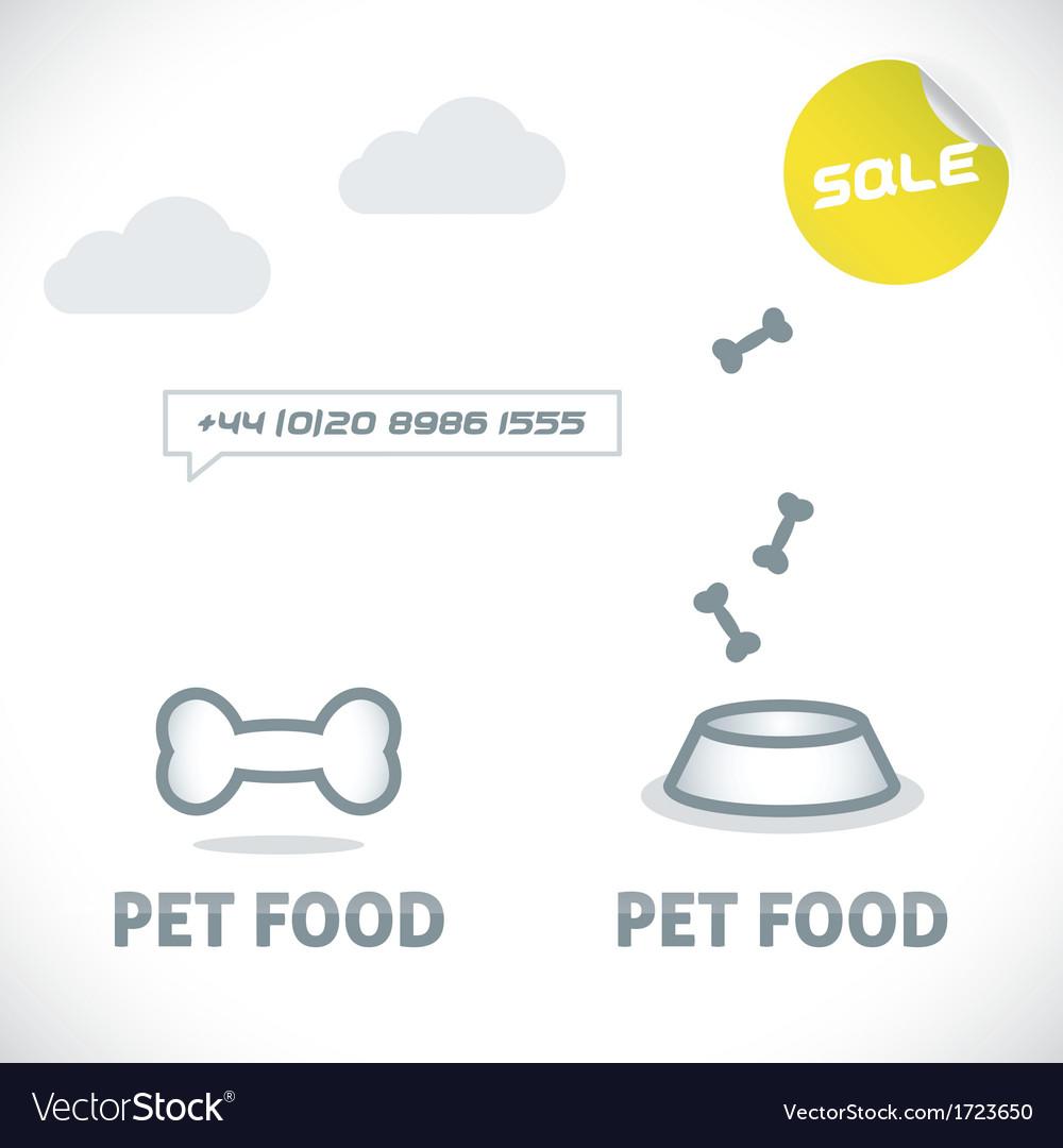 Pet shop icons vector | Price: 1 Credit (USD $1)