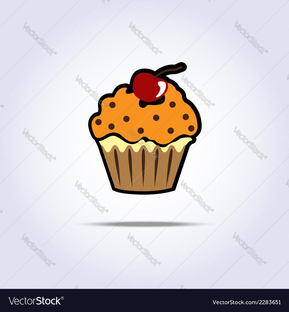 Cream cake vector | Price: 1 Credit (USD $1)