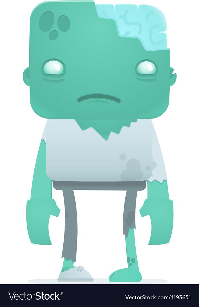 Funny cartoon zombie vector   Price: 3 Credit (USD $3)