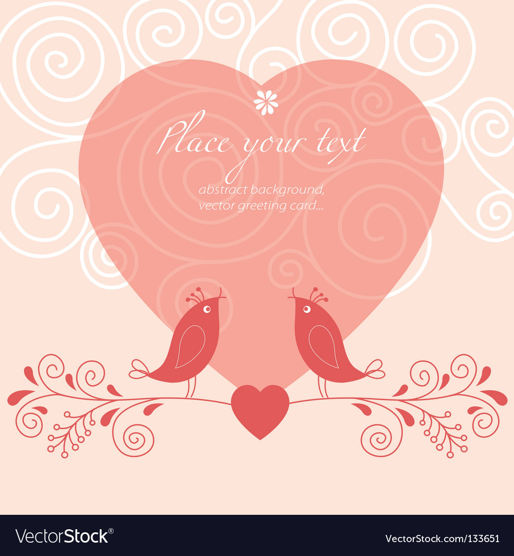 Valentines background vector | Price:  Credit (USD $)