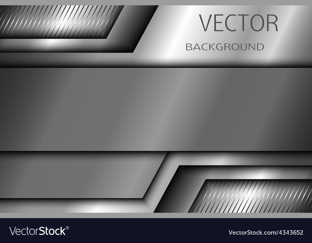 Abstract metal background eps 10 vector | Price: 1 Credit (USD $1)