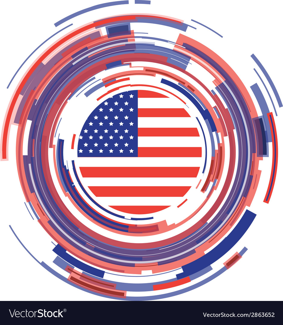 Usa icon vector | Price: 1 Credit (USD $1)