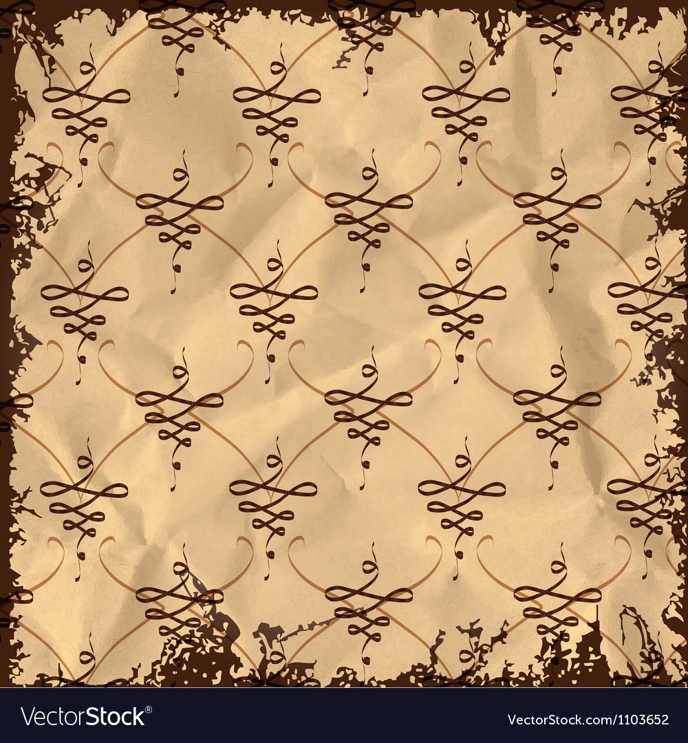 Vintage abstract pattern vector | Price: 1 Credit (USD $1)