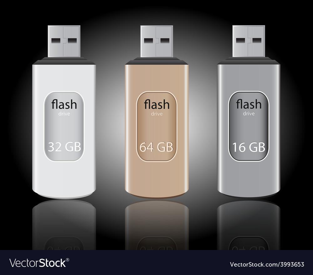 Memory sticks vector | Price: 1 Credit (USD $1)