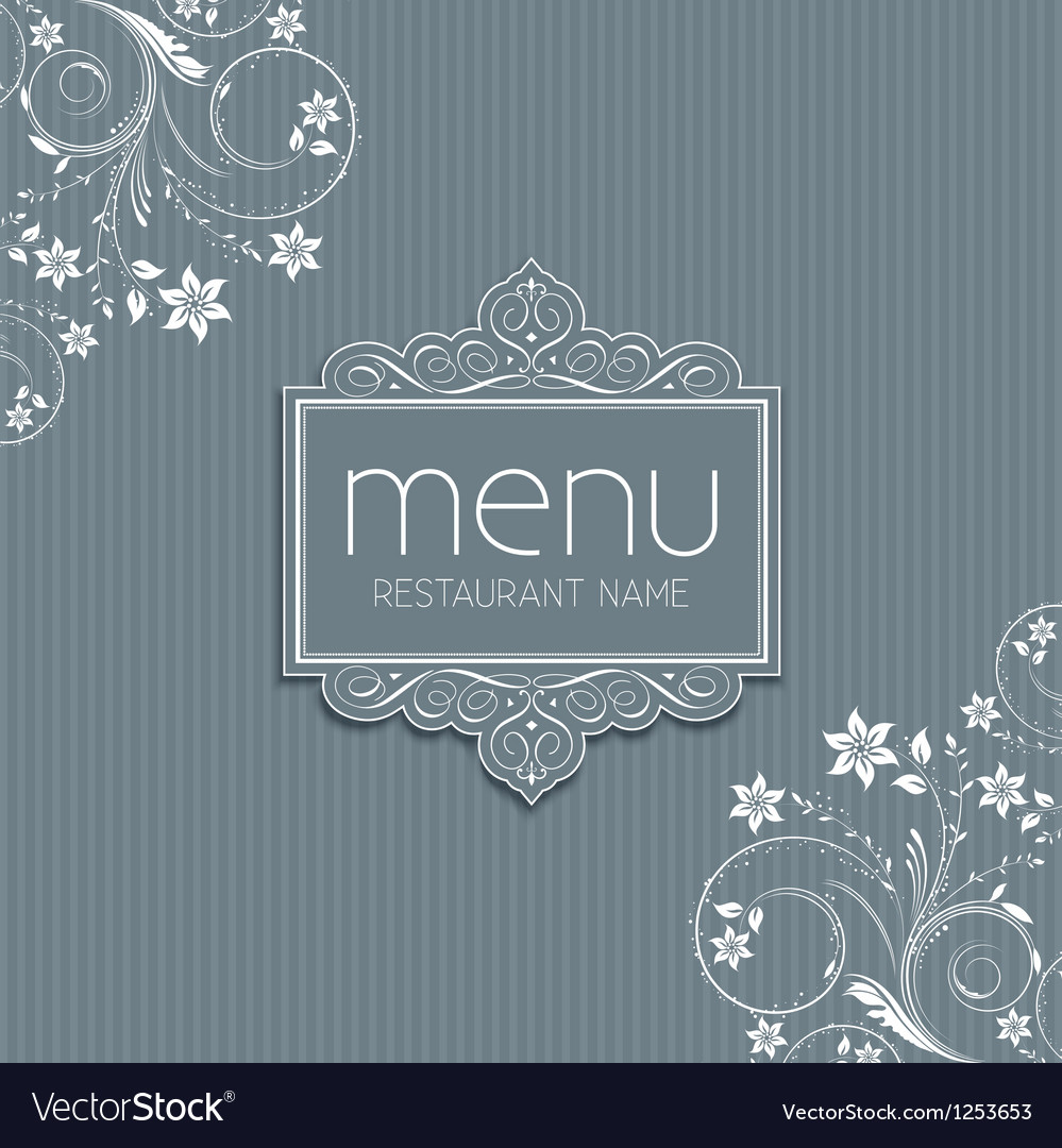 Stylish menu design vector | Price: 1 Credit (USD $1)