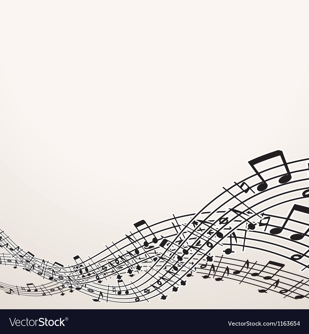 Musical background image with free space vector | Price: 1 Credit (USD $1)