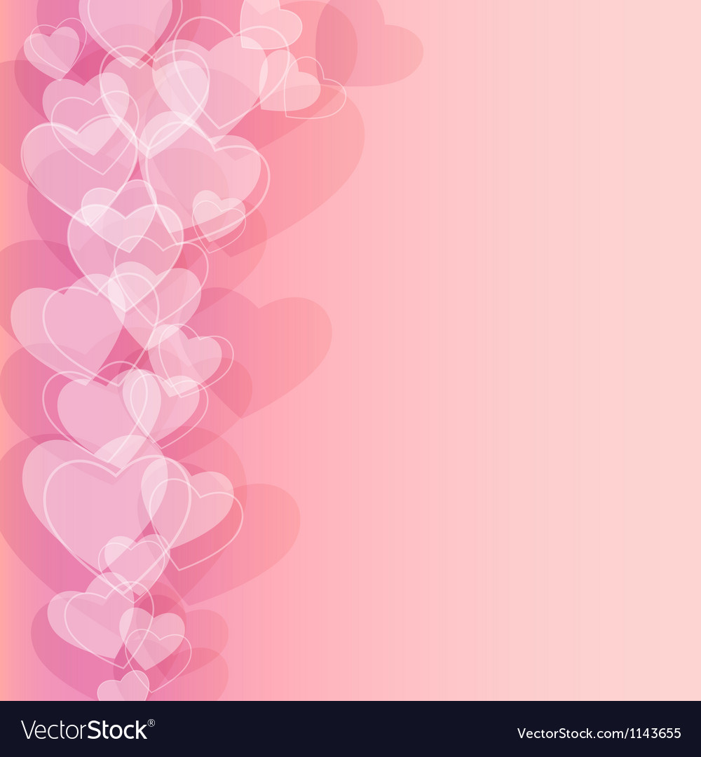 Abstract background to the valentines day vector | Price: 1 Credit (USD $1)