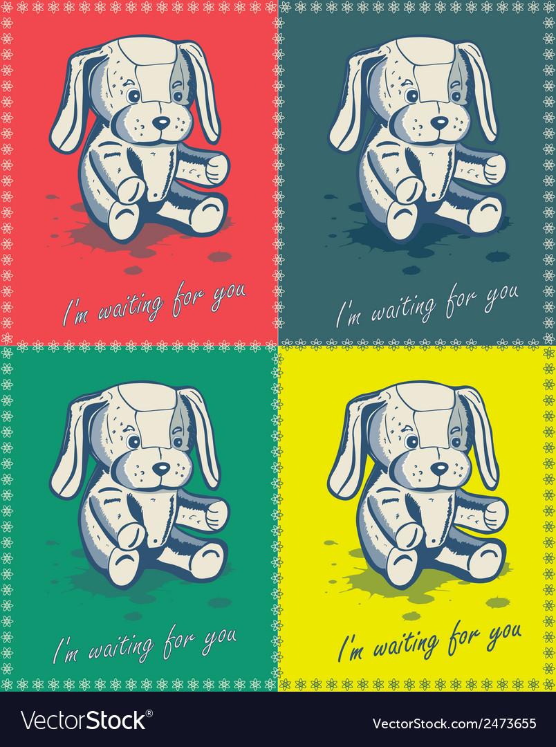 Puppy vector | Price: 1 Credit (USD $1)