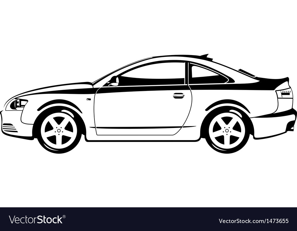 Sport coupe vector | Price: 1 Credit (USD $1)