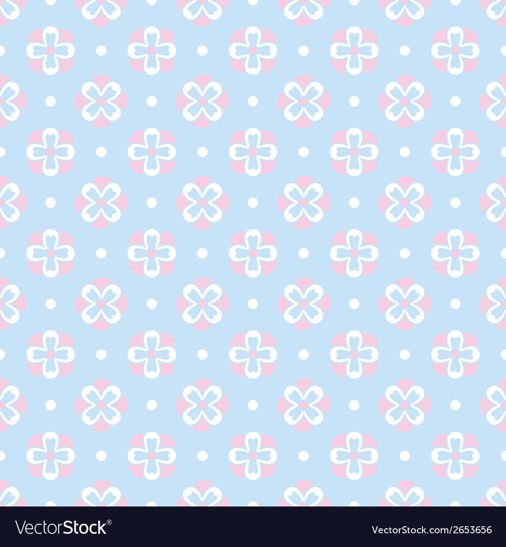 Baby pastel different seamless pattern tiling vector | Price: 1 Credit (USD $1)