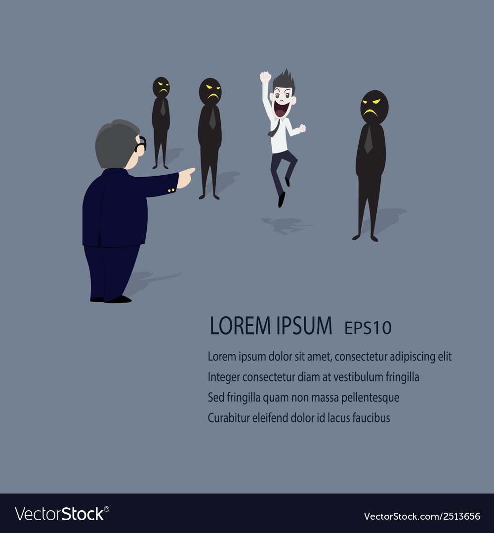 Businessman succuss vector | Price: 1 Credit (USD $1)