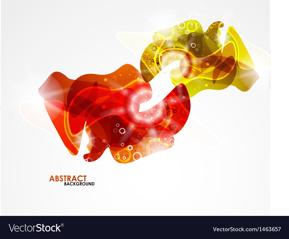 Abstract colorful modern smooth shape vector | Price: 1 Credit (USD $1)