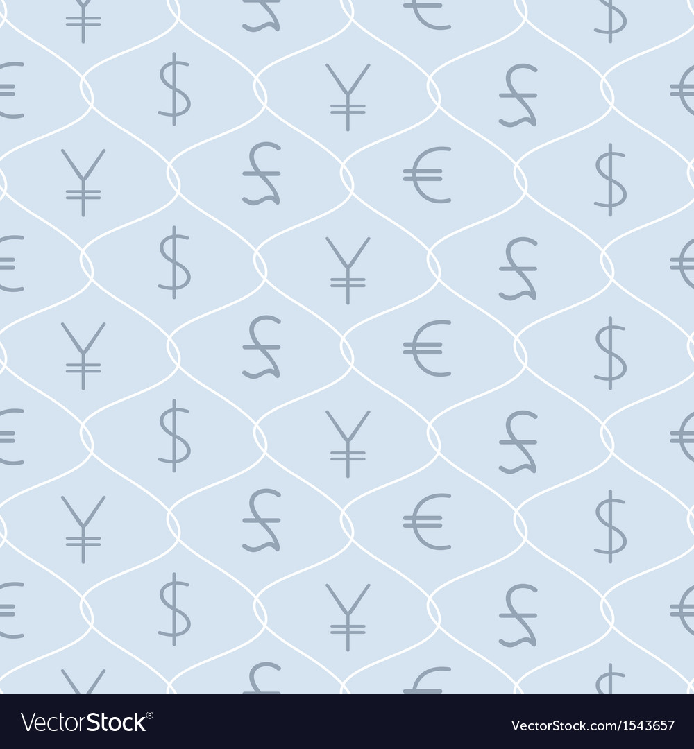 Background with major types of currencies vector | Price: 1 Credit (USD $1)