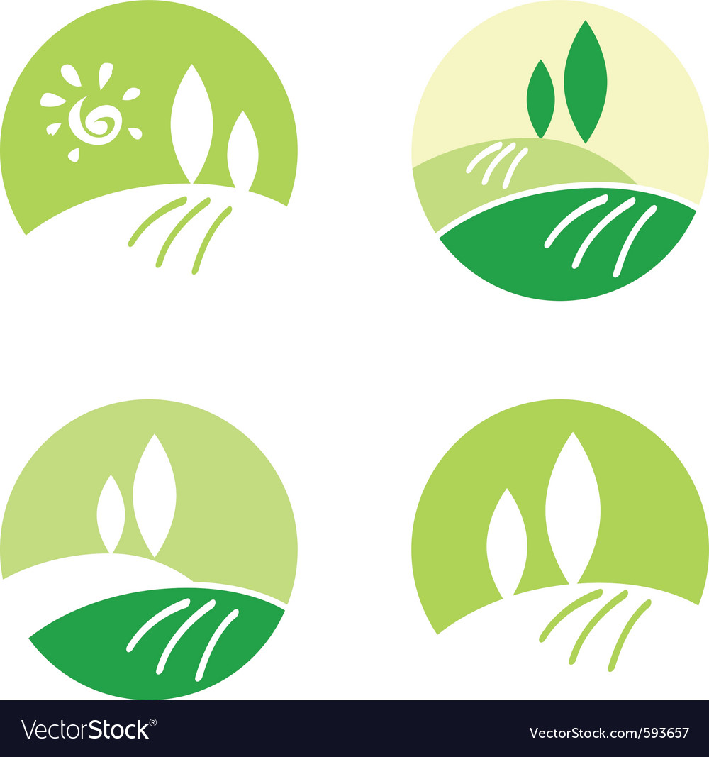 Rolling hill icons vector | Price: 1 Credit (USD $1)