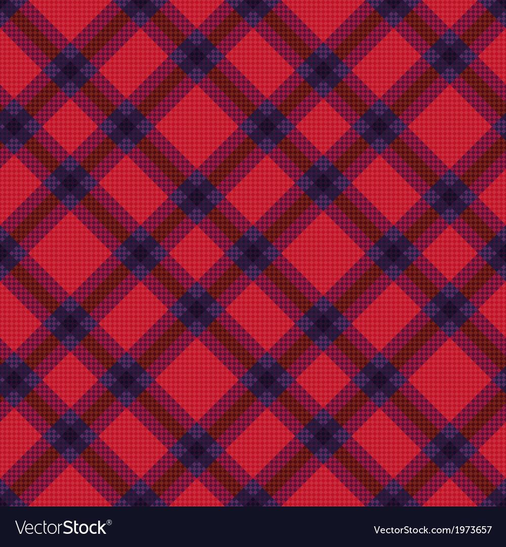 Seamless diagonal tartan texture vector | Price: 1 Credit (USD $1)
