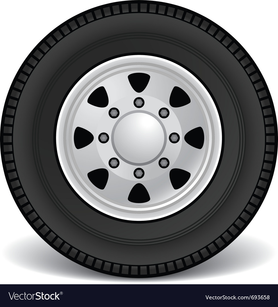 Heavy duty truck rim vector | Price: 1 Credit (USD $1)