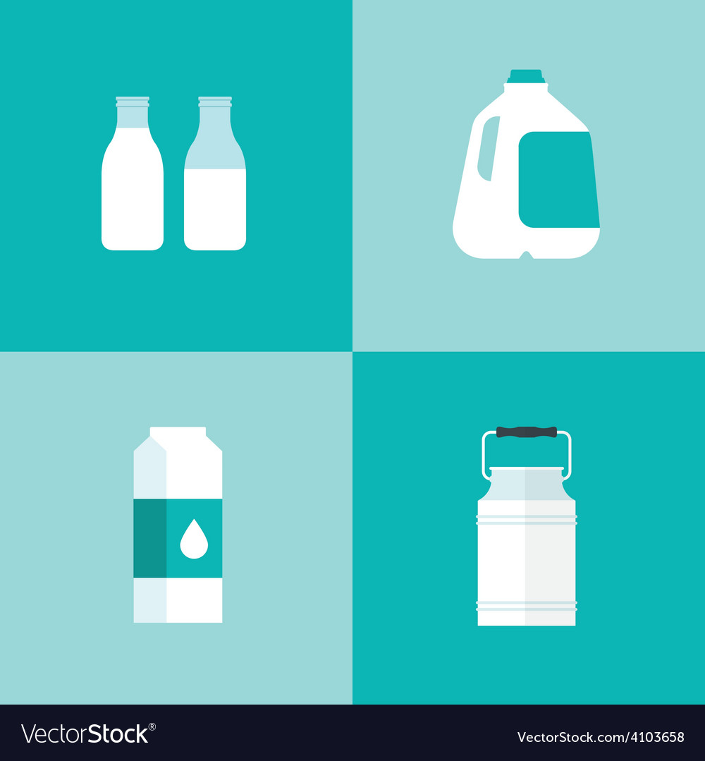 Milk icon package types vector   Price: 1 Credit (USD $1)