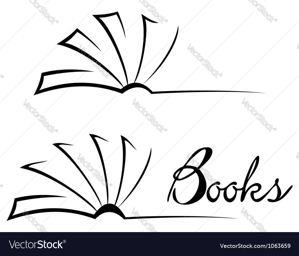 Book symbol vector | Price: 1 Credit (USD $1)