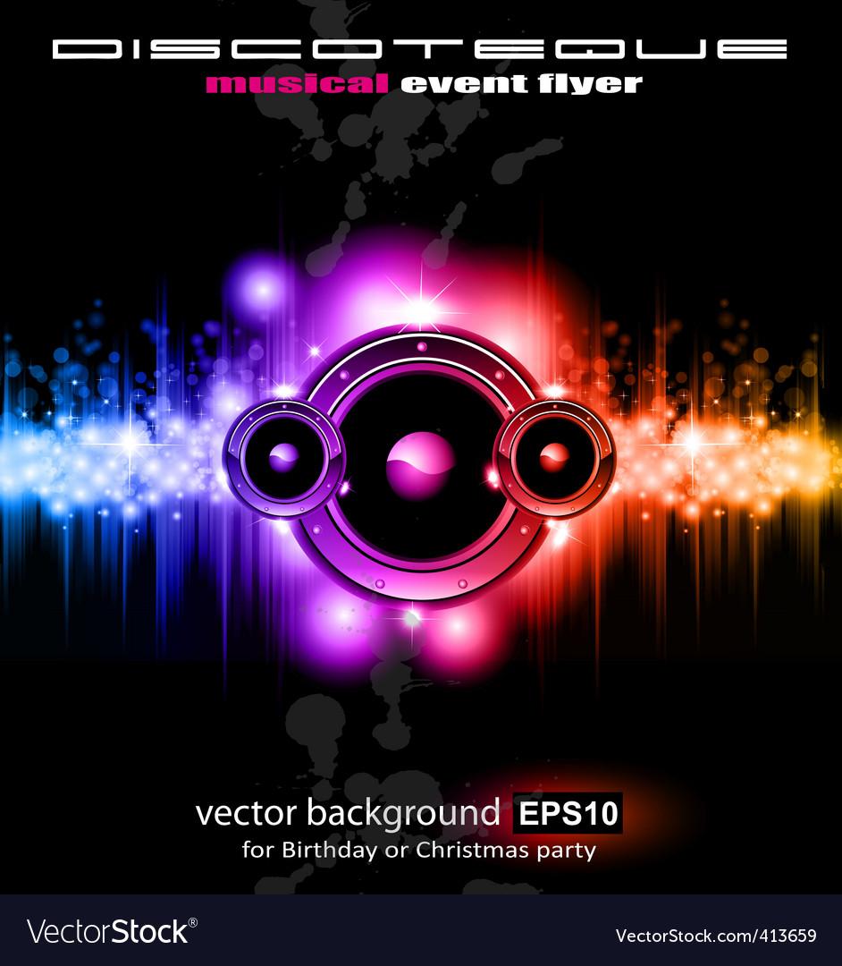 High tech music vector | Price: 3 Credit (USD $3)