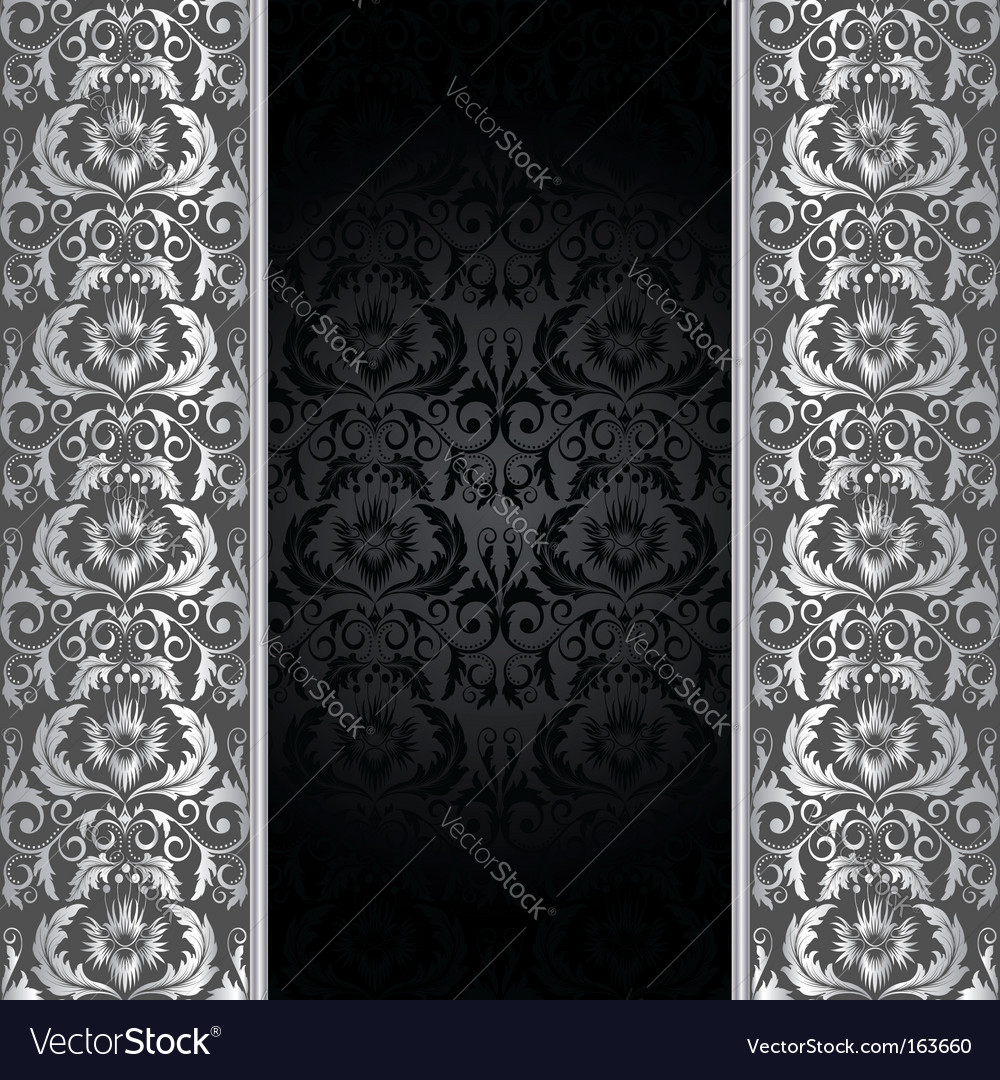 Black and silver background vector | Price: 1 Credit (USD $1)