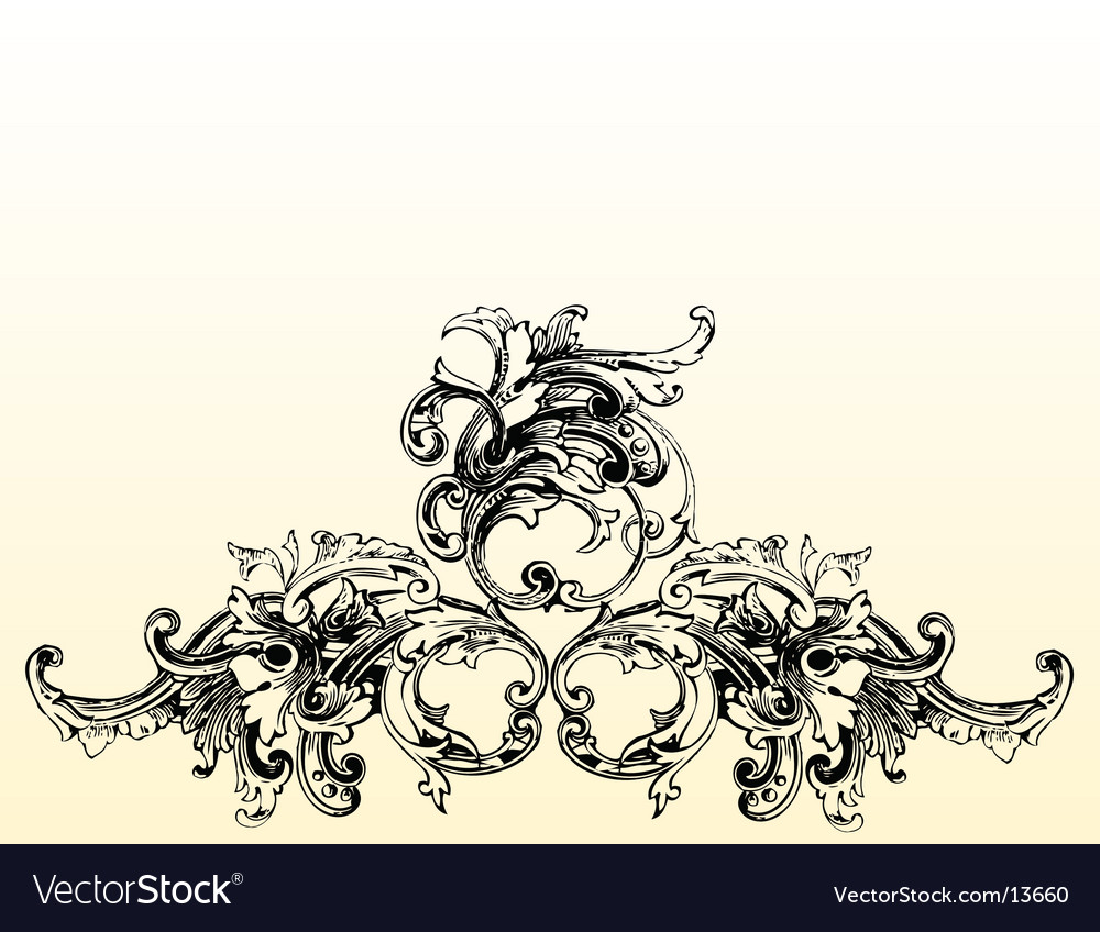 Flourish illustration vector | Price: 1 Credit (USD $1)