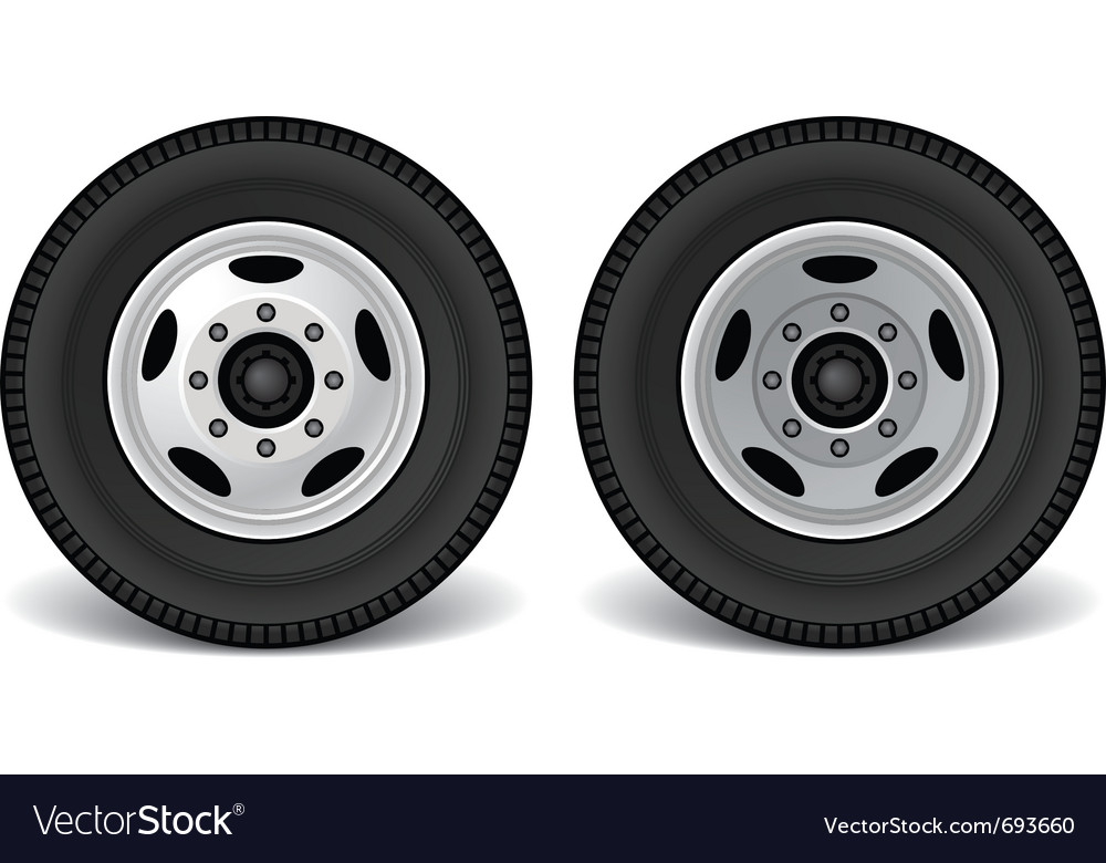 Heavy duty truck rims vector | Price: 1 Credit (USD $1)