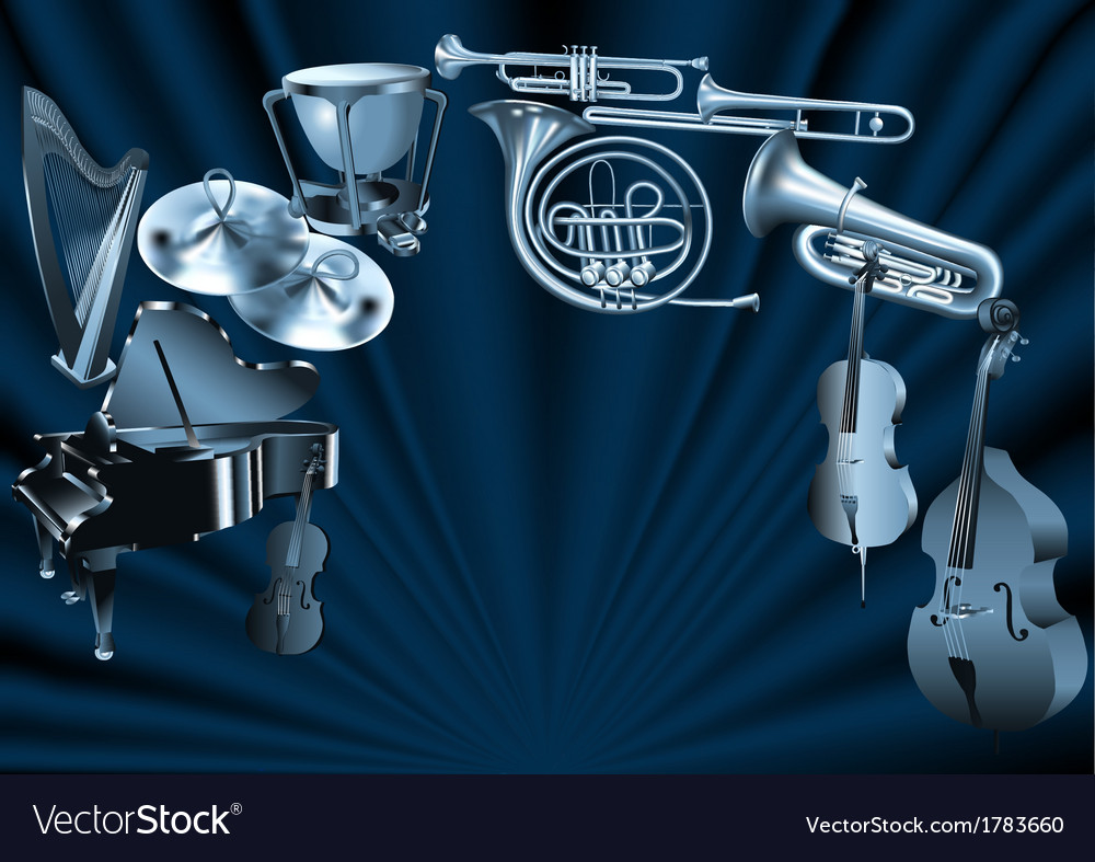 Orchestra vector | Price: 1 Credit (USD $1)
