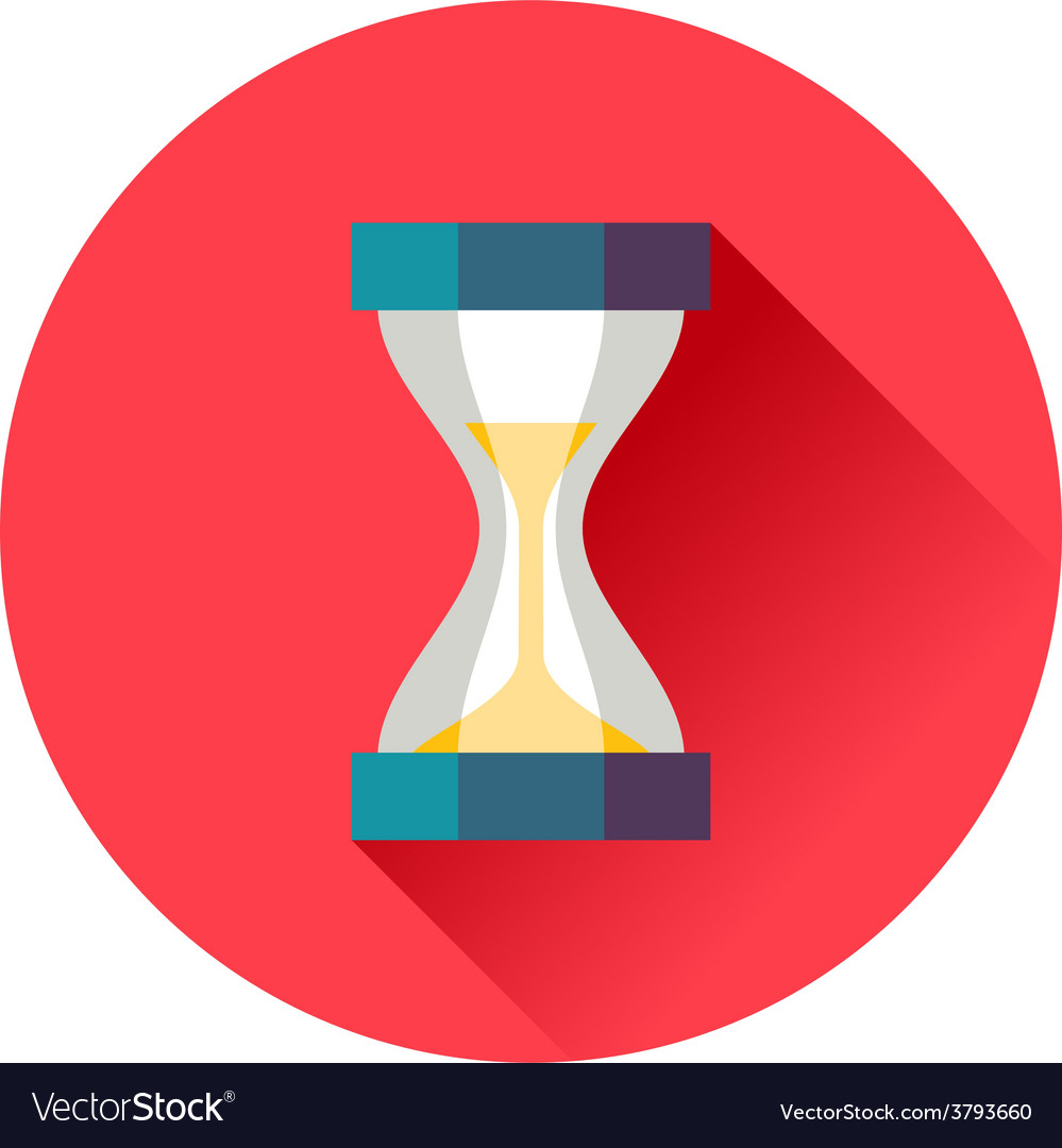 Sand timer vector | Price: 1 Credit (USD $1)