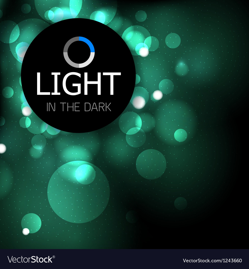 Shiny light abstract design template vector | Price: 1 Credit (USD $1)