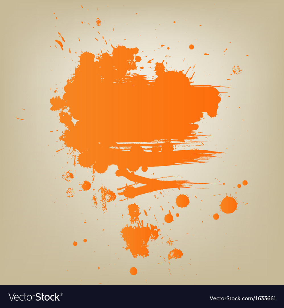 Artistic paint banner vector | Price: 1 Credit (USD $1)
