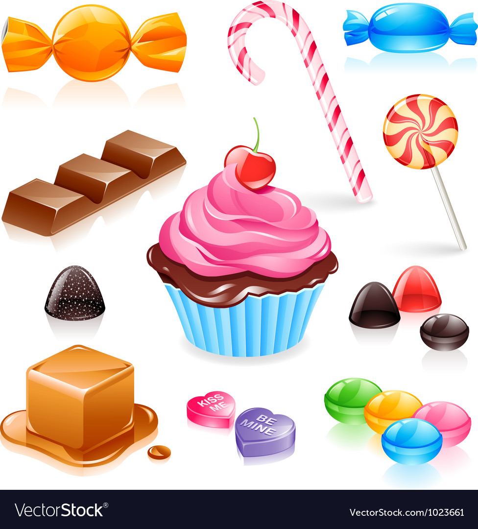 Candy vector | Price: 3 Credit (USD $3)