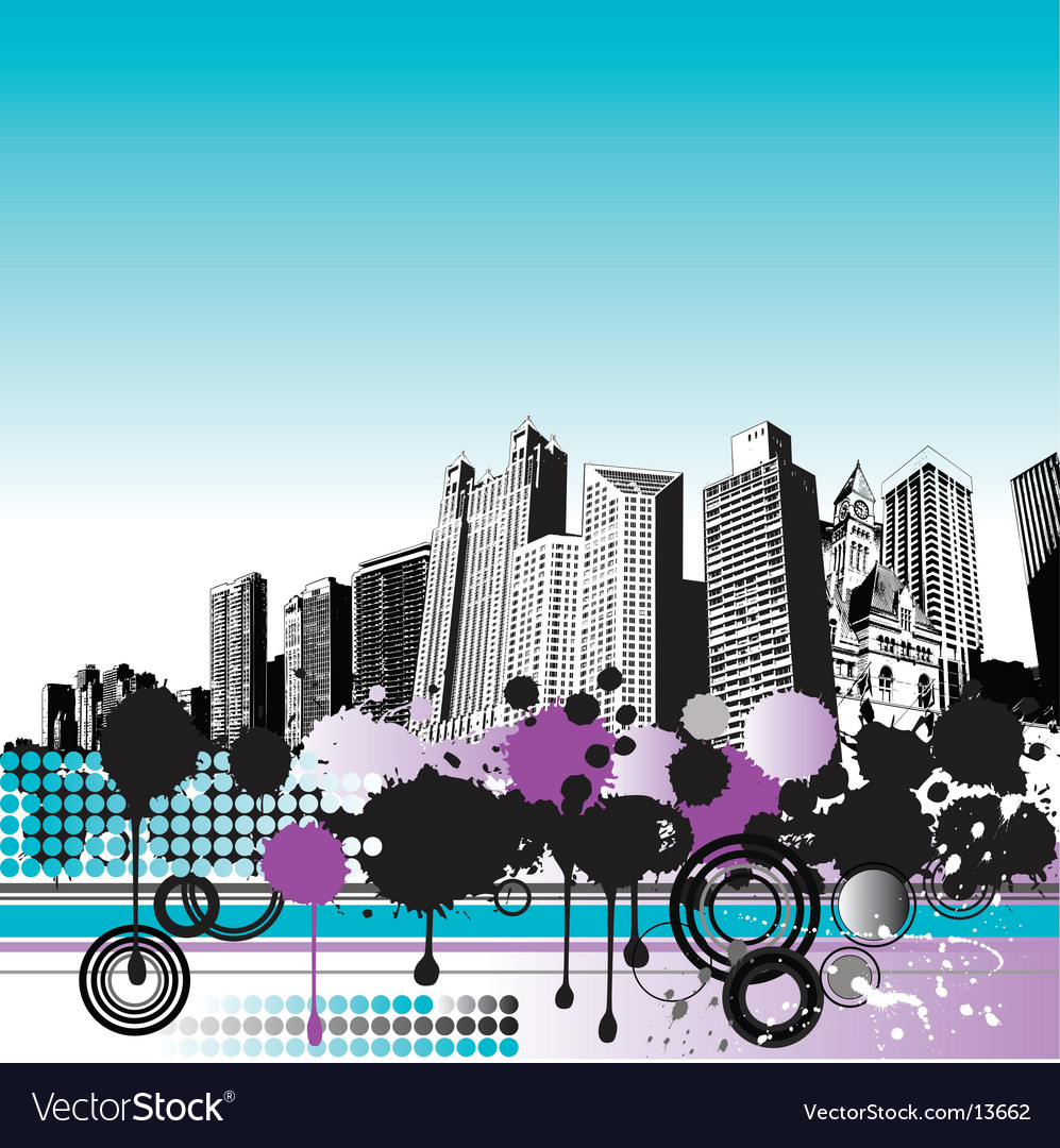 City grunge vector | Price: 1 Credit (USD $1)