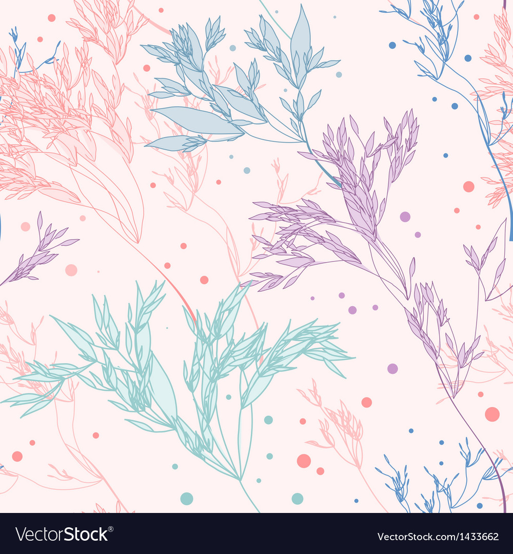 Pattern herbs vector | Price: 1 Credit (USD $1)
