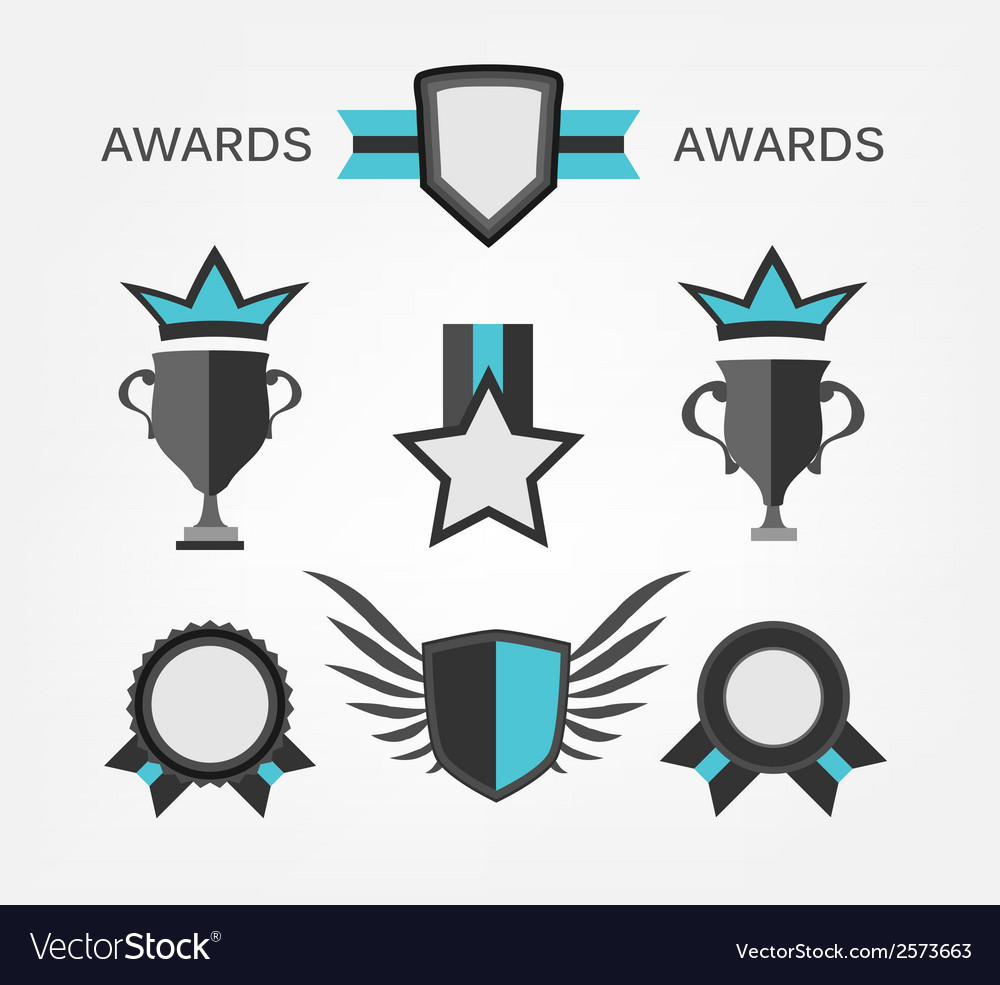 Award sign and symbol vector | Price: 1 Credit (USD $1)